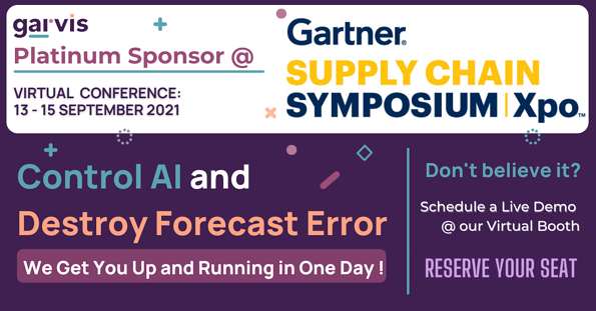 Garvis at Gartner Supply Chain Symposium