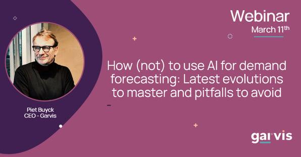 Webinar - Using AI for forecasting