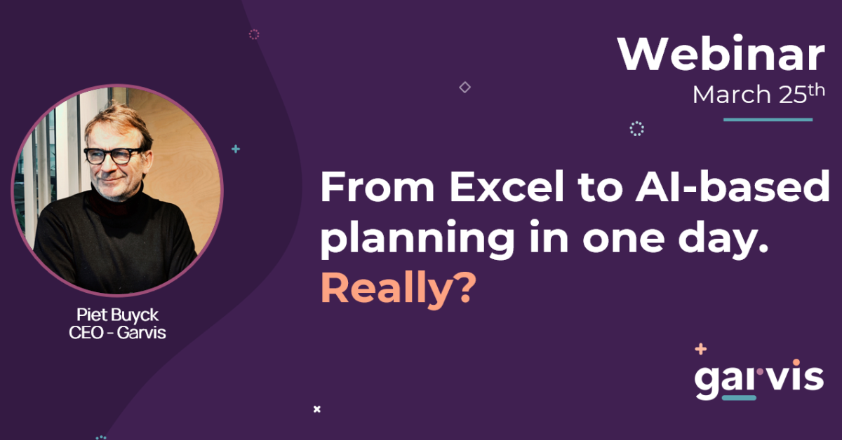 Garvis Webinar Excel to AI in one day