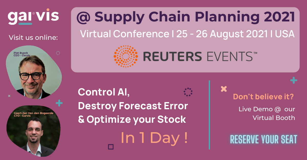 Garvis at Reuters Supply Chain Planning 2021